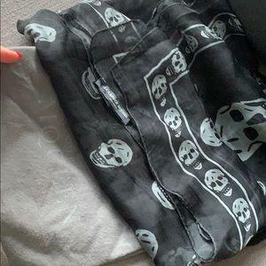 Alexander McQueen authentic silk scarf